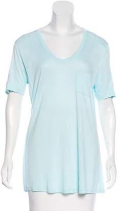 Alexander Wang Short Sleeve Jersey Top