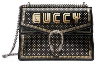 Gucci Dionysus GUCCY Medium Leather Shoulder Bag