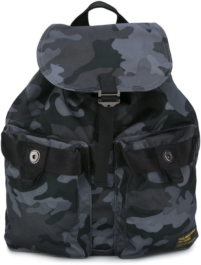 Polo Ralph LaurenPolo Ralph Lauren camouflage print backpack