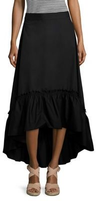 Trina Turk Rosamund Hi-Lo Skirt $278 thestylecure.com