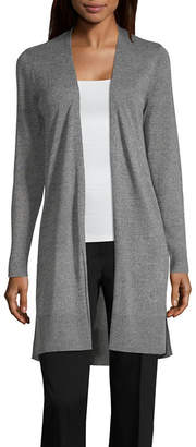 96a18d44a59 WORTHINGTON Worthington Womens Long Sleeve Open Front Cardigan. JCPenney  WORTHINGTON ...