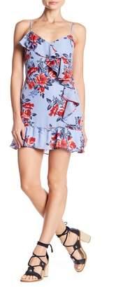 Parker Floral Sleeveless Ruffle Dress