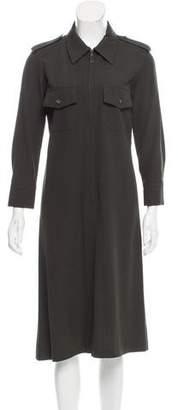 Gucci Structured Midi Dress