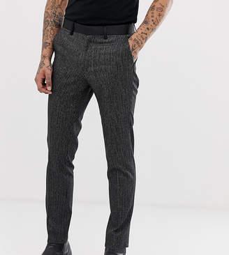 Heart N Dagger skinny fit suit pants in stripe