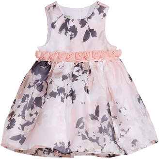 Marmellata Baby Girls Rosette-Waist Dress