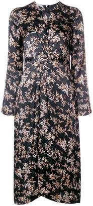 Vince floral print longsleeved dress