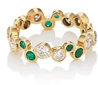 Pamela Love Fine Jewelry Women's Large Paillette Band-Green