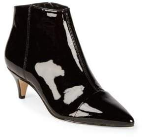 Sam Edelman Kinzey Patent Leather Kitten Heel Booties