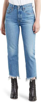 Levi's 501(R) Step Hem Crop Jeans