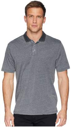 True Grit Bowery Burnouts Vintage Washed Short Sleeve Polo Men's Short Sleeve Pullover