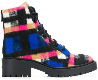 Kenzo lace up ankle boots