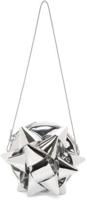 MM6 MAISON MARGIELA Silver Bow Shoulder Bag