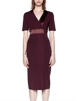 Dion Lee Spliced Silk Dress