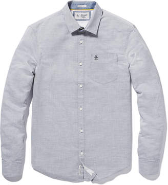 Original Penguin LINEN FEEDER STRIPE SHIRT