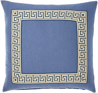 Eastern Accents Breeze Pillow with Mitered Border