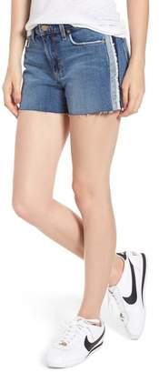 Joe's Jeans Ozzie Side Stripe Cutoff Shorts