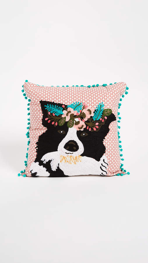 Gift Boutique Floral Dog Pillow