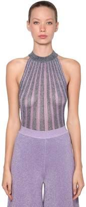 Missoni Lurex Knit Crop Top