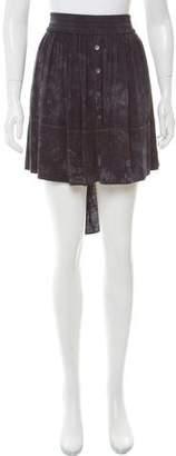 Raquel Allegra High-Low Tie-Dye Skirt