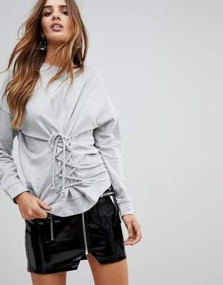 Vero Moda Corset Detail Sweatshirt