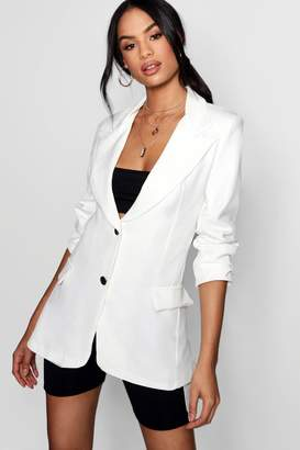 boohoo Tailored Collared Pocket Detail Blazer