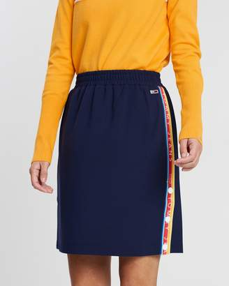 Tommy Jeans Popper Track Skirt