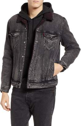 Levi's x Justin Timberlake Faux Shearling Collar Trucker Jacket