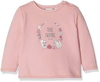 Sanetta Baby Girls Sweatshirt, (Dusty Pink 3922.0)