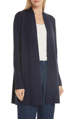 Eileen Fisher Merino Straight Long Cardigan