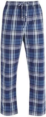 Derek Rose Ranga check brushed cotton pyjama trousers