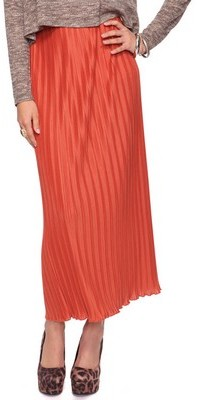 Forever 21 Accordion Pleat Maxi Skirt