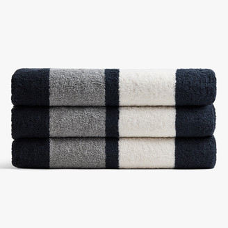 James Perse DOUBLE STRIPE BEACH TOWEL