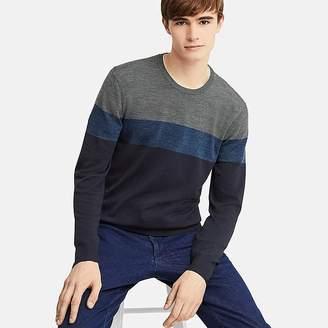Uniqlo Men's Extra Fine Merino Crewneck Long-sleeve Sweater