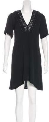 A.L.C. Silk Short Sleeve Dress