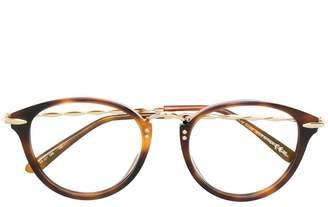 Elie Saab round frame glasses