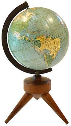 One Kings Lane Vintage Midcentury Modern Desk Globe