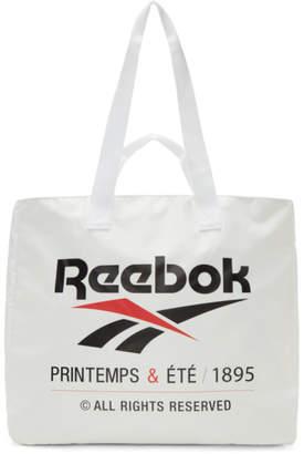 Reebok Classics White Classic Printemps and Ete Tote