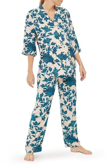 Topshop Women's Topshop Geo Floral Maternity Pajamas
