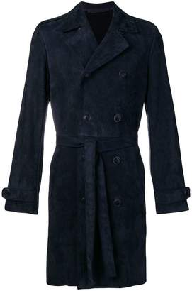 Salvatore Santoro belted double breasted coat