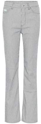 ALEXACHUNG High-waisted jeans