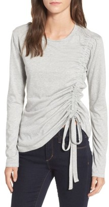 Women's Lush Cinch Side Tee $32 thestylecure.com