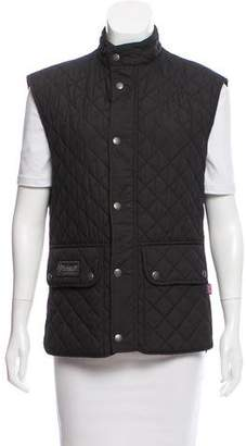 Belstaff Quilted Button-Up Vest
