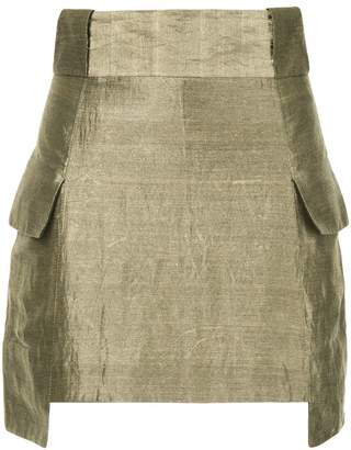 Kitx structured mini skirt