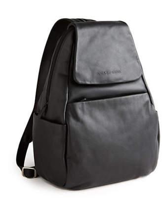 At The Bay Derek Alexander Leather Flap Backpack