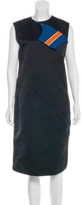 Calvin Klein Sleeveless Midi Dress w/ Tags Black Sleeveless Midi Dress w/ Tags