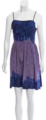 Edun Silk Floral Dress