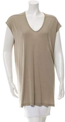 Rick Owens Scoop Neck Tunic w/ Tags