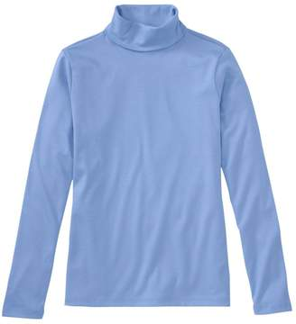L.L. Bean L.L.Bean Pima Cotton Turtleneck, Long-Sleeve