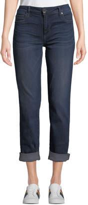 KUT from the Kloth Catherine Roll-Cuff Boyfriend Jeans