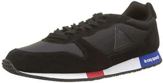 Le Coq Sportif Men's Alpha Sport Trainers, (Black Noir)